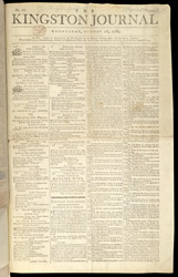 The Kingston Journal- 26th August 1789